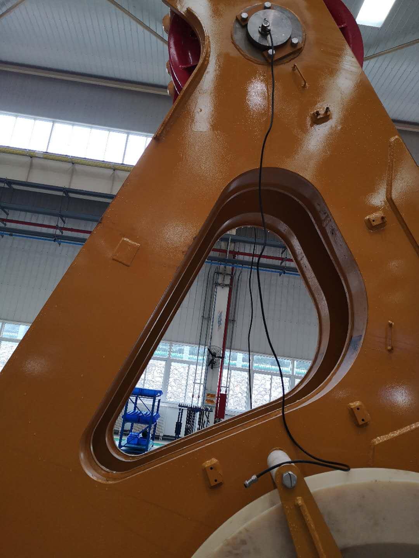 力敏传感器/大吨位轴销传感器安装示例